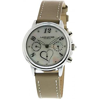 Lancaster watch watches MEZZO LPW00355 - watch MEZZO leather Mole woman