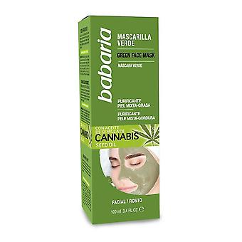 Babaria Cannabis Seed Oil Face Mask for oily combination skin 100ml