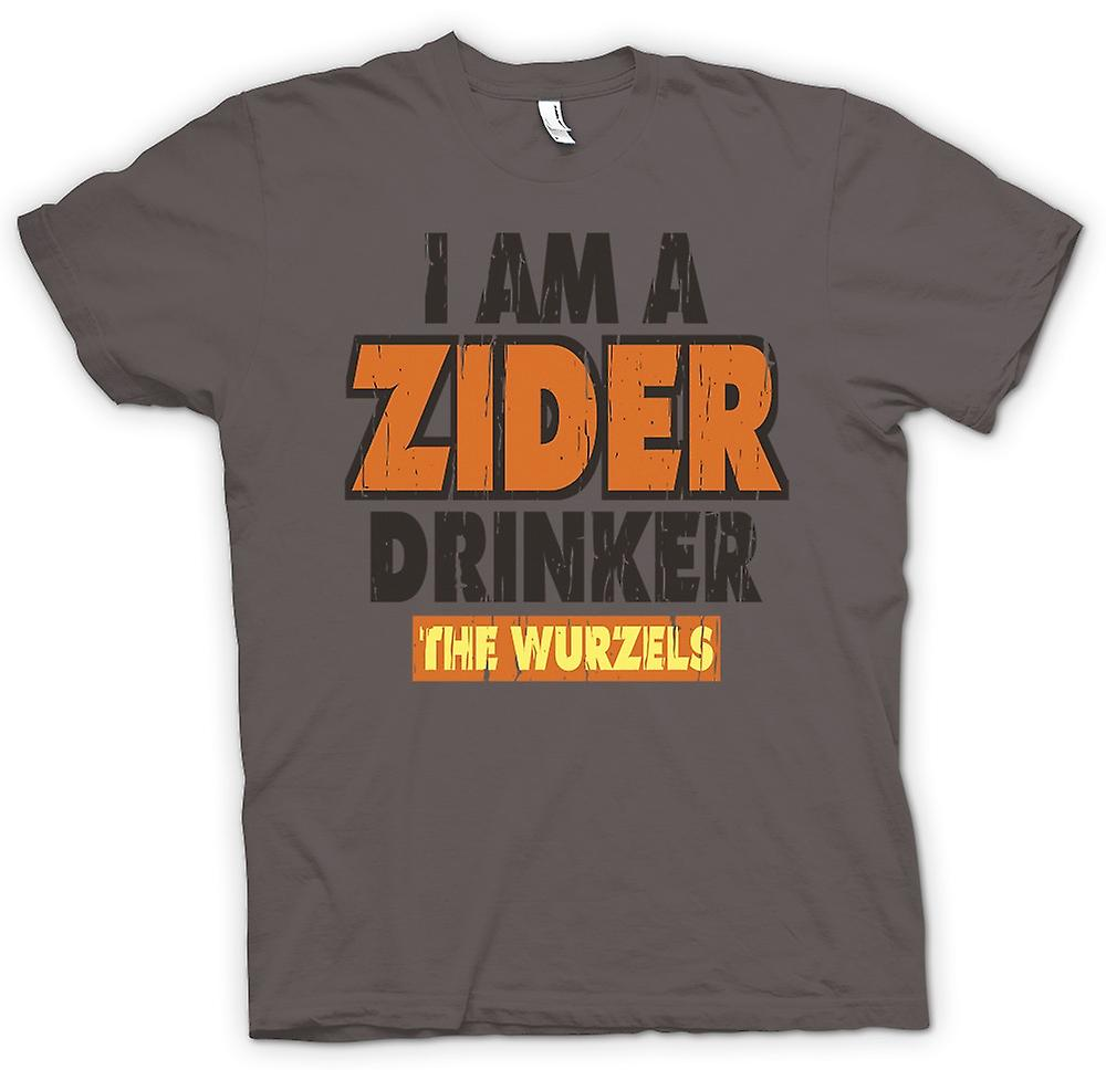 Womens T-shirt - I Am A Zider Drinker - The Wurzels