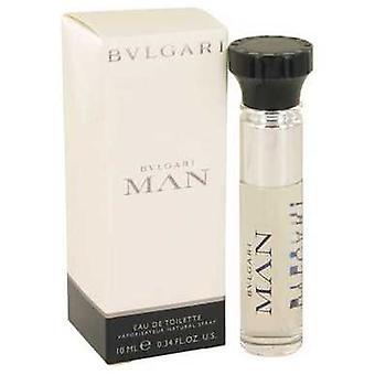 Bvlgari Man Por Bvlgari Mini Edt Spray .33 Oz (hombres) V728-537668