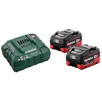 Metabo Basic-Set 2 x LiHD 5.5Ah batterij Kit