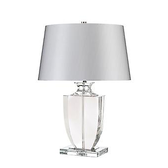Elstead - 1 Light Table Lamp - Clear Finish - LIONA/TL