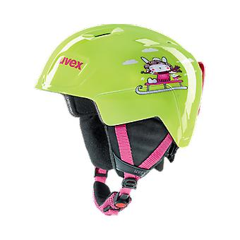 Uvex Manic 3-5 years Printed lime snow dog