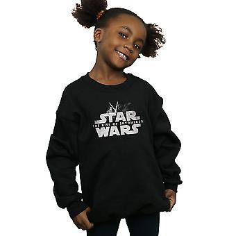 Star Wars The Rise Of Skywalker Rey And Kylo Battle Girls Sweatshirt
