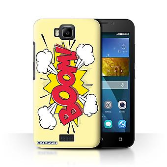 STUFF4 Case/Cover for Huawei Honor Bee/Y5c/Boom!/Comics/Cartoon Words