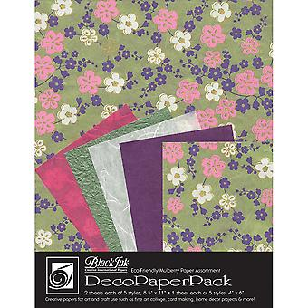 Deco Paper Pack By Black Ink Papers-Sakura DP-709