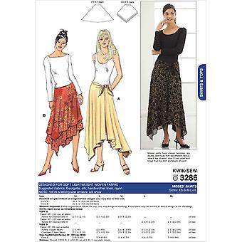 Skirts  Xs  S  M  L  Xl Pattern K3286