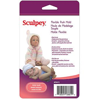 Sculpey flexibles Push Mold poupée bébé Apm 72