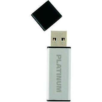 USB stick 16 GB Platinum ALU Silver 177557 USB 2.0