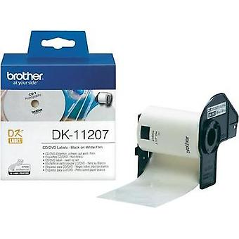 Brother Labels (roll) Ø 58 mm Film White 100 pc(s)