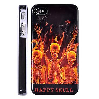 Cover Happy Skull in hard plastic, for iPhone 4/4s