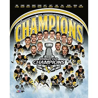 Pittsburgh Penguins 2016 Stanley Cup Champions Composite Sports Photo