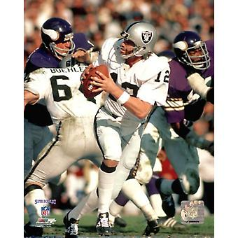 Ken Stabler Super Bowl XI Action Photo Print