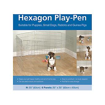 Options à six pans creux Play Pen 6 x 25 po.