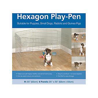 Opties zeshoek Play Pen 6 x 25