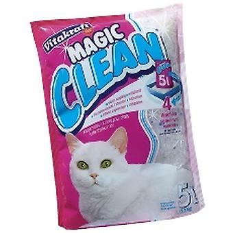 VITAKRAFT Magic Clean kattsand - silikon 5ltr (förpackning med 6)