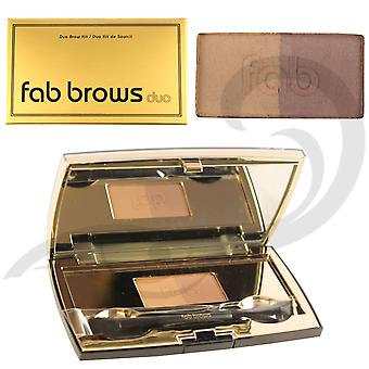 Fab Brows Duo Eyebrow Kit - Dark Brown / Chocolate