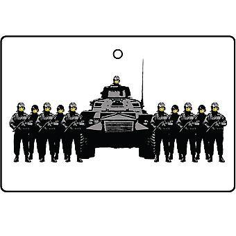 Banksy haben einen schönen Tag-Auto-Lufterfrischer