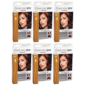 Cover Your Gray Root Touch-Up Light Brown/Blonde (6 Pack)