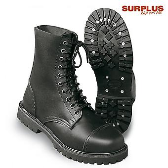 Surplus shoes 10 hole undercover boots