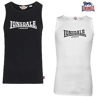 Lonsdale mens Galaxy Singlet tank top