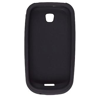 Wireless Solutions Smooth Silicone Gel Case for Samsung Galaxy 3 I5800 (Black)