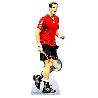 Andy Murray Lifesize papp Cut-out