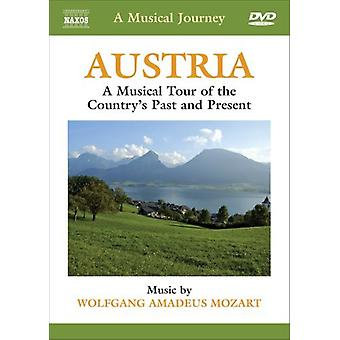 W.a. Mozart - Austria: A Musical Tour of the Country's Past & Pr [DVD] USA import