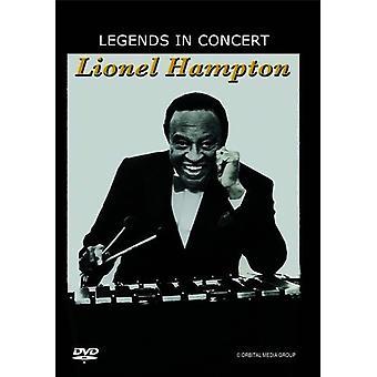Lionel Hampton: Legender i koncert [DVD] USA importerer