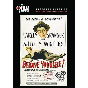 Behave Yourself [DVD] USA import