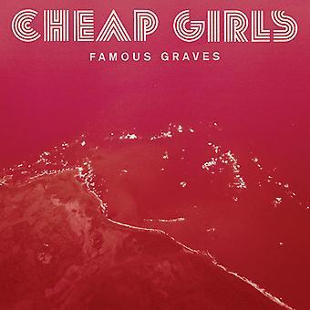 Billige piger - berømte Graves [CD] USA importerer