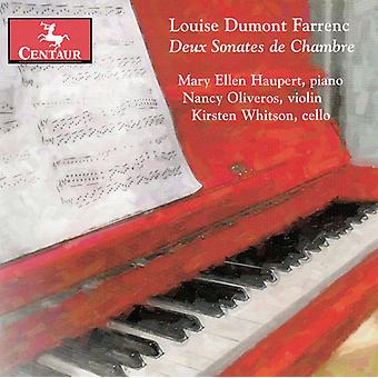 L. Farrenc - Louise Dumont Farrenc: Deux Sonates De Chambre [CD] USA import