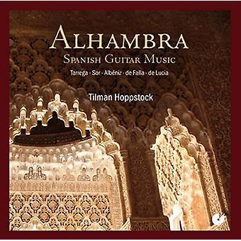 Sor / Tarrega / Albeniz / De Falla / De Lucia - Alhambra-spansk guitarmusik [CD] USA import