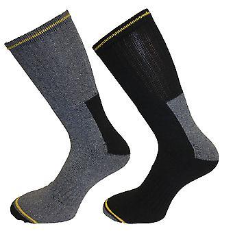 5 x Mens duro-portando lavoro - sicurezza calzettoni - calore e Comfort taglia 6-11