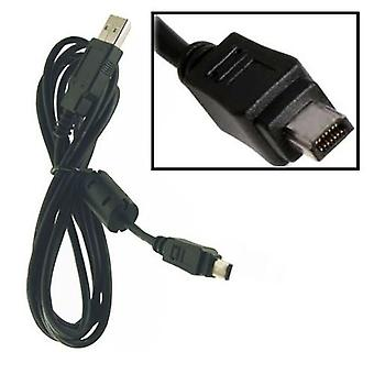 Fujifilm compatible Audio Video Cable for Fujifilm FinePix A205, A205s, A210, A310, A330, A340, E500, E510, E550, F10, F401, F402, F410, F420, F440, F450, F455, F700, F810, M603, V10, Z5fd