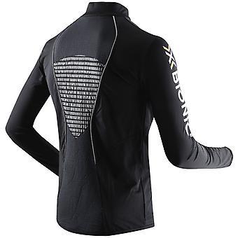 X-BIONIC Men Running Humdinger Long Sleeve Zip-Up Laufshirt - O20352-B014
