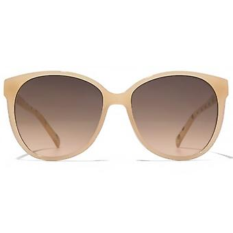 American Freshman Soft Cateye Square Sunglasses In Milky Coral