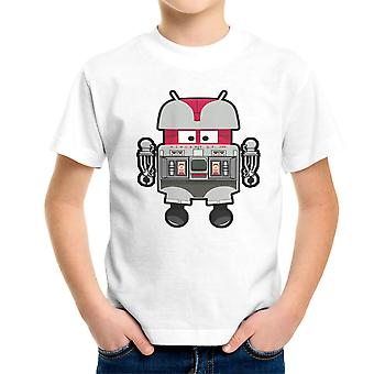 V.I.N.CENT L.F 396 Droid The Black Hole Android Kid's T-Shirt