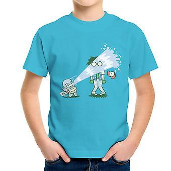 Pokemon Scheitern Squirtle Kinder T-Shirt