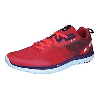 Reebok ZQuick Soul Mens Running Trainers / Shoes - Red