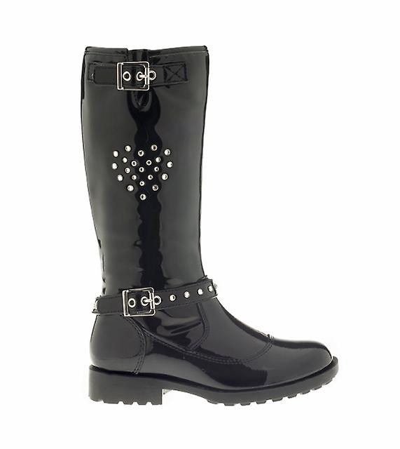 Lelli Kelly Girls Marianne Boots Black Patent
