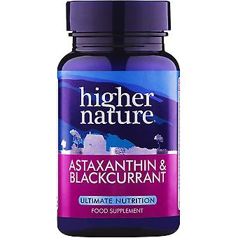 Higher Nature Astaxanthin & Blackcurrant, 90 veg caps