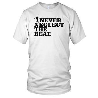 Nooit verwaarlozing de Beat Breakdance Hip Hop Kids T Shirt