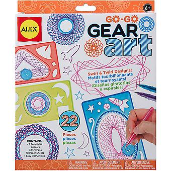 Go Go Gear Art Set-33 s
