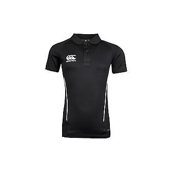 Canterbury Team Dry Kids Rugby Polo Shirt