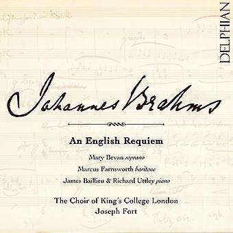 Brahms / Bevan * Mary / Farnsworth * Marcus - Brahms: en dansk Requiem [CD] USA import