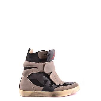 Ishikawa ladies MCBI156038O grey Suede Ankle Boots