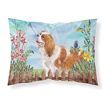 Cavalier Spaniel Spring Fabric Standard Pillowcase