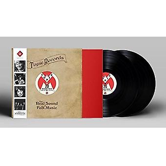 Forskellige kunstner - ægte lyd af folkemusik [Vinyl] USA importerer