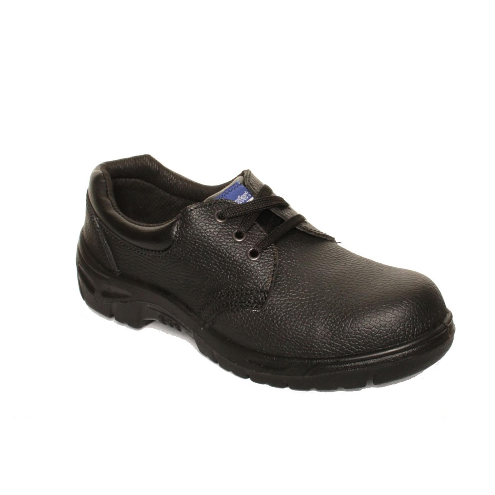 84544f34e5d Dennys Unisex COMFORT GRIP Steel Toe Cap Catering Safety Shoe / Footwear